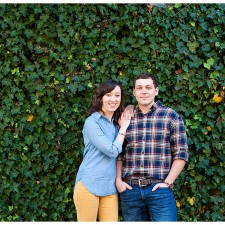 Fall Engagement Session in Old Town Fredericksburg, VA Photos