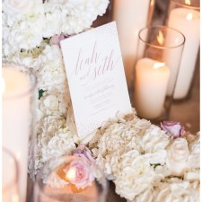 Wedding stationary at Greenhill Vineyard