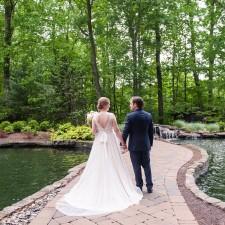 bride and groom portraits at 2941 restaurant wedding Falls Church Virginia