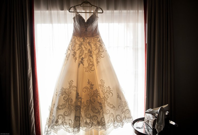 Morilee by Madeline Gardner wedding gown at the alexandrian hotel old town Alexandria Virginia