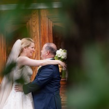 the alexandrian hotel wedding pictures Alexandria Virginia bride and groom portrait laughing