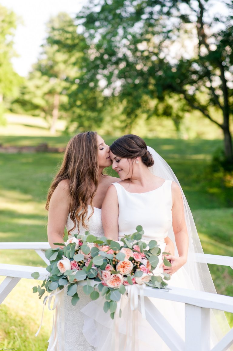 Same Sex Fauquier Springs Country Club Wedding Amber Kay Photography