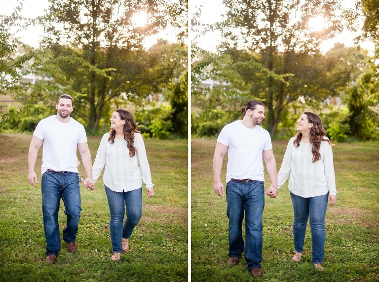 Richmond Virginia engagement session which doubled as a family session