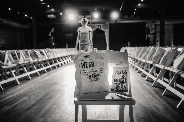 wear rva charity fashion show behind the scenes