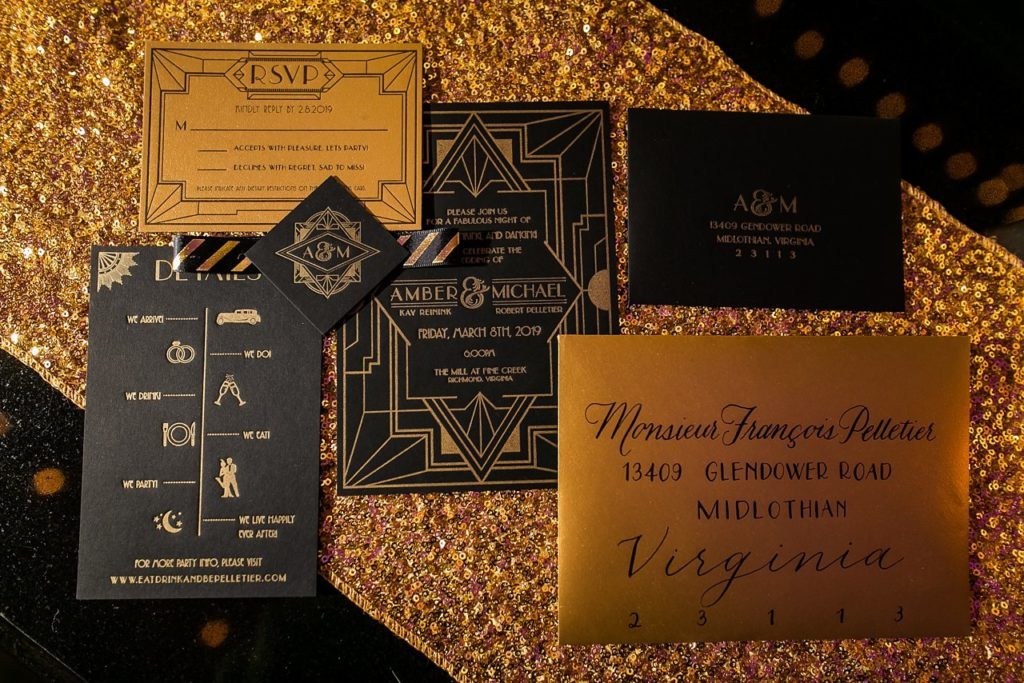 great gatsby wedding invitation suite 10 tips for planning your wedding
