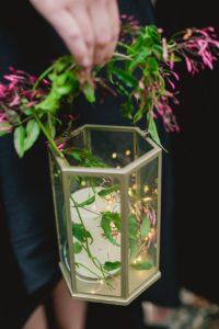 wedding lantern bouquet