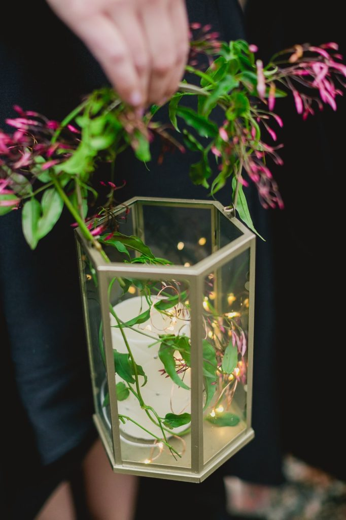 wedding lantern bouquet