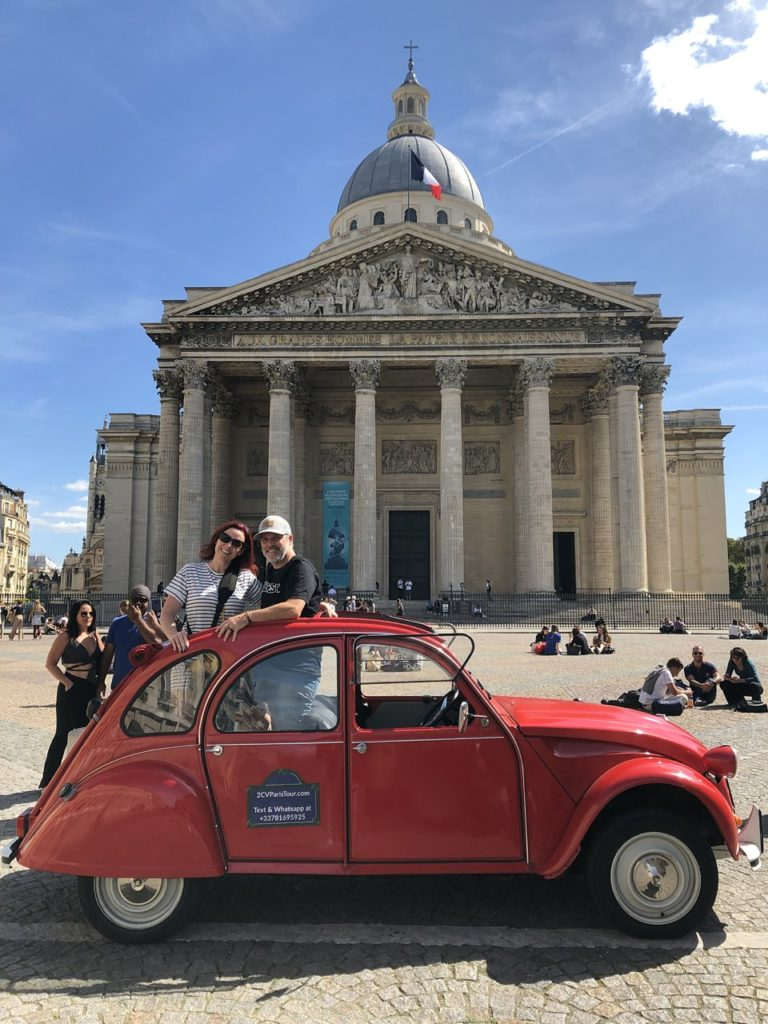 5 days in paris france detailed itinerary red c2v car tour paris