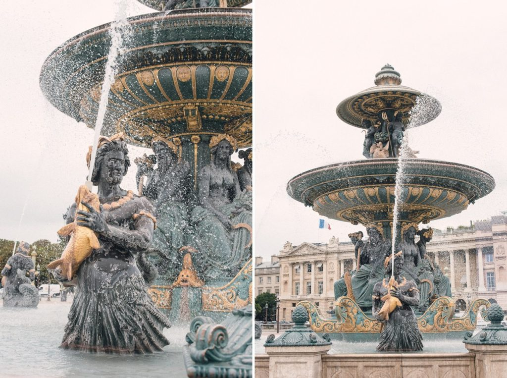 5 days in paris france detailed itinerary fontaine des mers