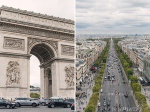5 days in paris france detailed itinerary arc de triomphe view from top