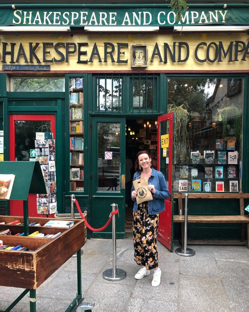 5 days in paris france detailed itinerary shakespeare and company book store
