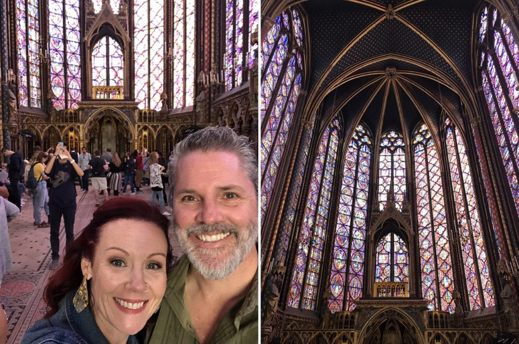 5 days in paris france detailed itinerary sainte chapelle stained glass