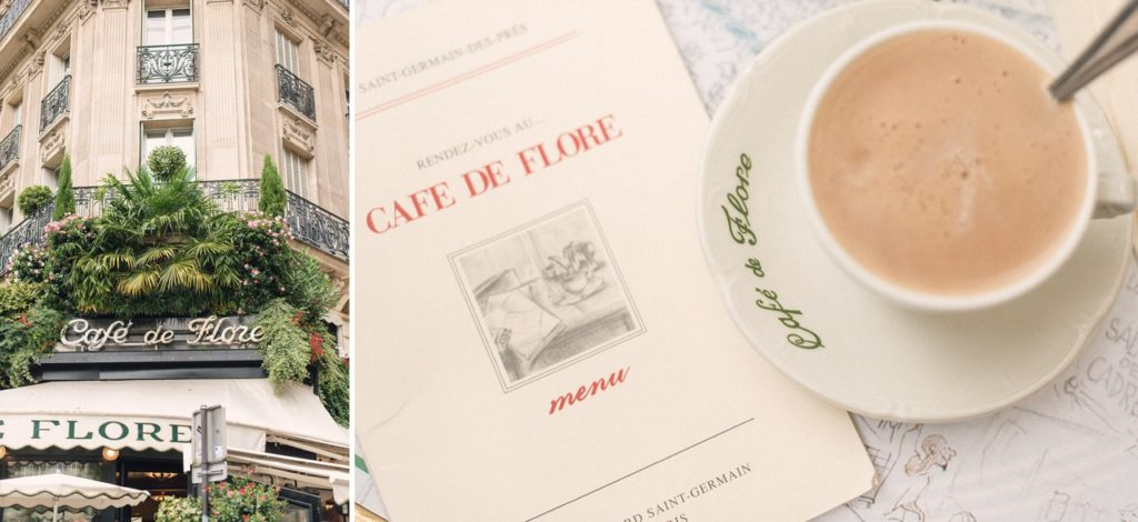 5 days in paris france detailed itinerary cafe flore